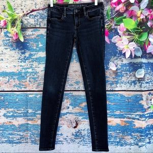 American Eagle Outfitters Blue Jegging Sz 0 Long